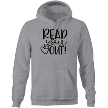 Load image into Gallery viewer, Read your heart out - Pocket Hoodie Sweatshirt