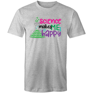 Science makes me happy