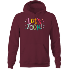Load image into Gallery viewer, Let's Zoom - Pocket Hoodie