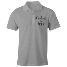 Load image into Gallery viewer, Kindness is free - S/S Polo Shirt