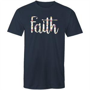 Faith (white floral print)