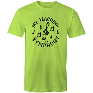 My teaching is a symphony