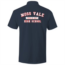 Load image into Gallery viewer, Moss Vale High Phys Ed  - S/S Polo Shirt (Design on back)