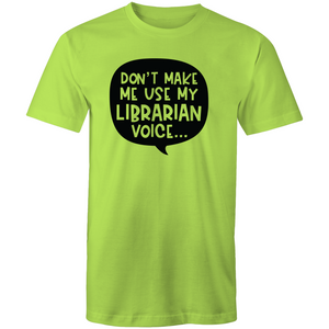 Don't make me use my librarian voice