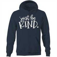 Load image into Gallery viewer, Just be kind - Pocket Hoodie Sweatshirt