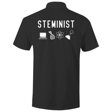 Load image into Gallery viewer, STEMINST- S/S Polo Shirt (Print on back)