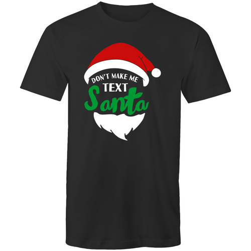 Don't make me text Santa
