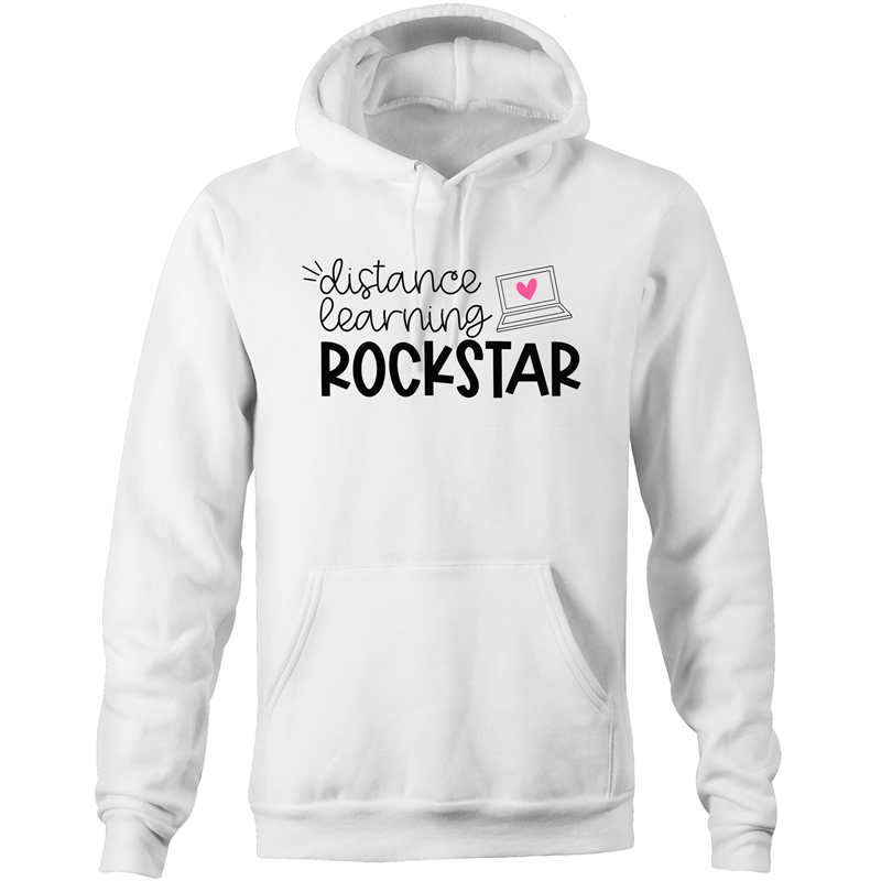 Distance learning ROCKSTAR - Pocket Hoodie
