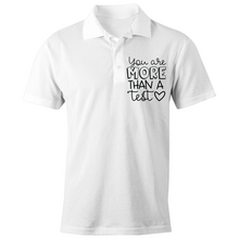 Load image into Gallery viewer, You are more than a test - S/S Polo Shirt