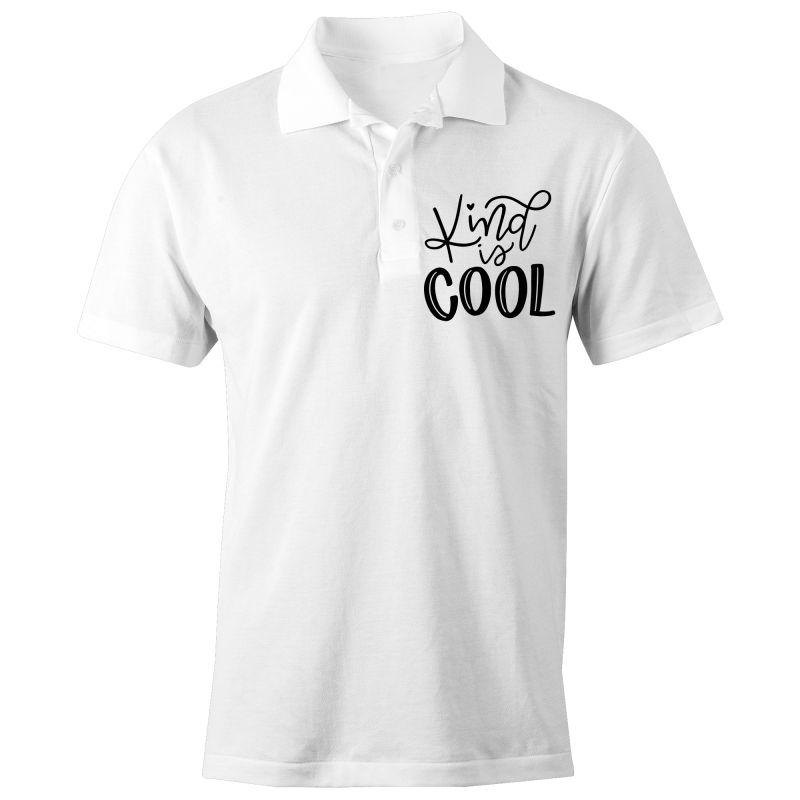 Kind is cool - S/S Polo Shirt