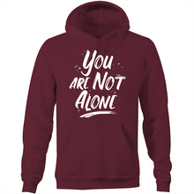 Load image into Gallery viewer, You are not alone - Pocket Hoodie Sweatshirt
