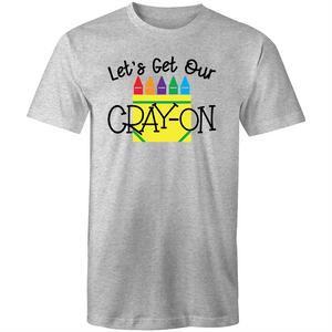 Let's get our CRAY-ON