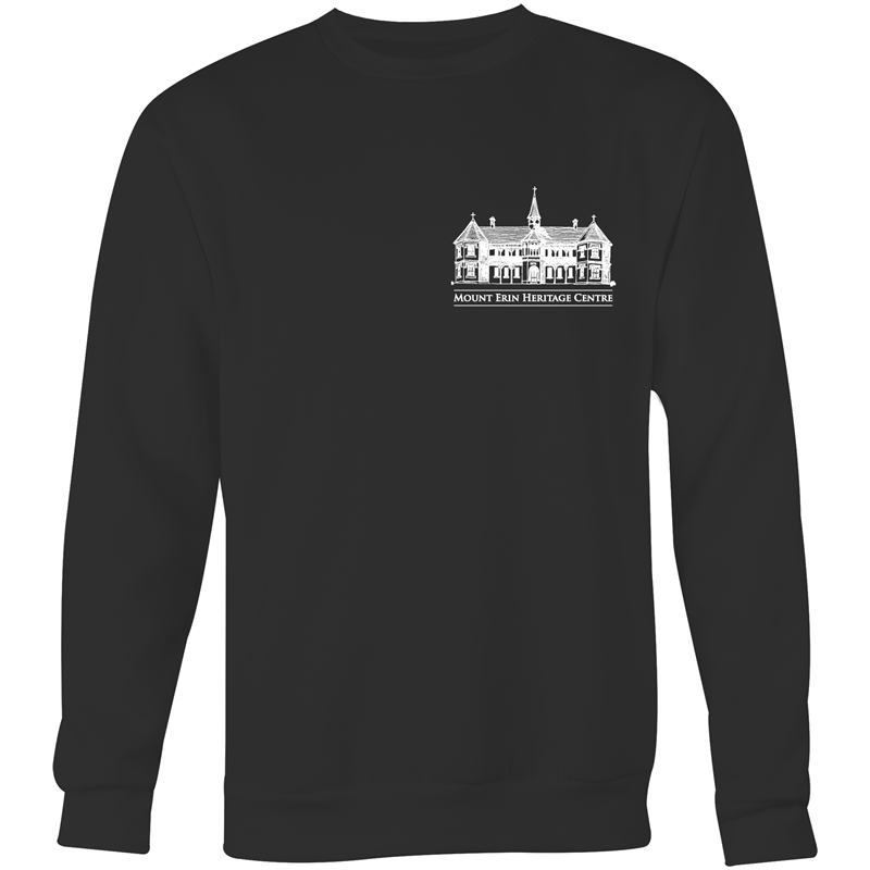 Mt Erin - Crew Neck Jumper Sweatshirt (logo on front only)