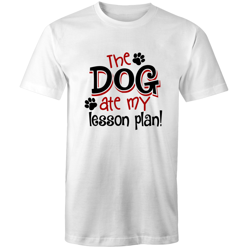 The dog ate my lesson plan!