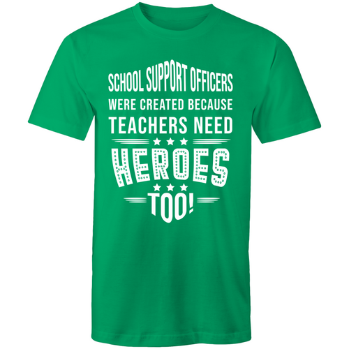 School support officers were created because teachers need heroes too