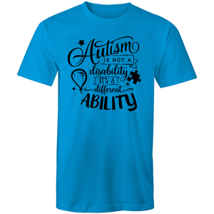 Autism is not a disability - it is a different ability