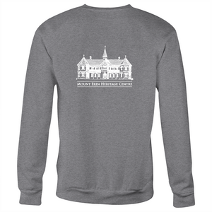 Mt Erin - Crew Neck Jumper Sweatshirt (logo on front and back)
