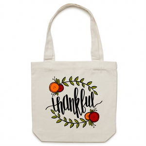 Thankful - Canvas Tote Bag