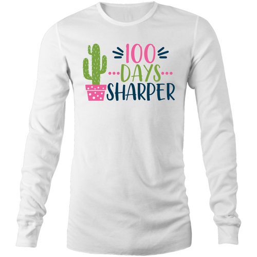 100 Days sharper - Long Sleeve T-Shirt