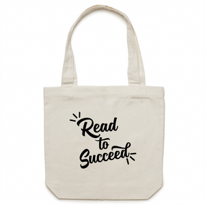 Read to succeed - Canvas Tote Bag