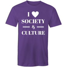 Load image into Gallery viewer, I heart society and culture
