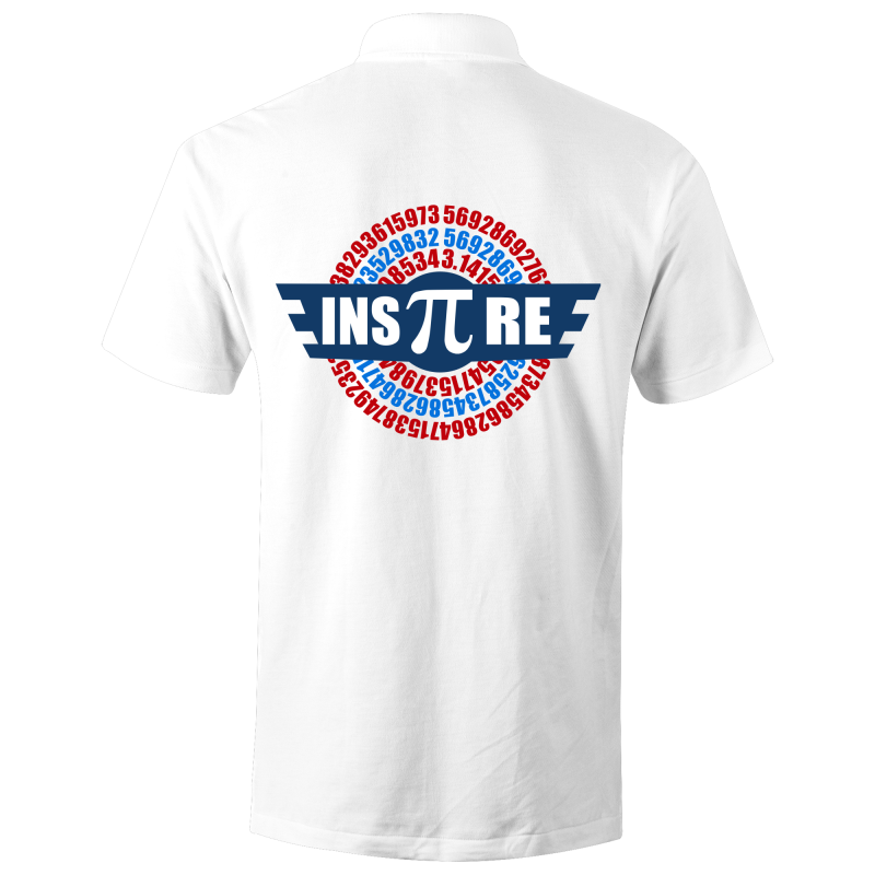 Inspire (Pi) - S/S Polo Shirt (Print on back)