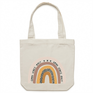 Good vibes only - Canvas Tote Bag