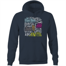 Load image into Gallery viewer, Read more books - Pocket Hoodie Sweatshirt