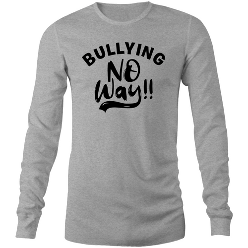 Bullying NO WAY Long Sleeve T-Shirt