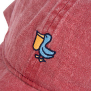THE PELICAN LOGO WASHED HAT NANTUCKET