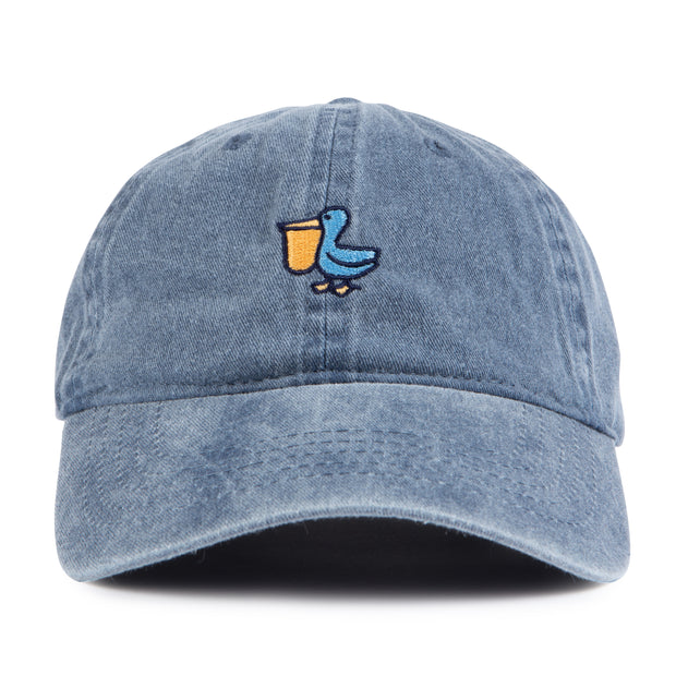 THE PELICAN LOGO WASHED HAT NEWPORT