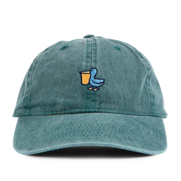 THE PELICAN LOGO WASHED HAT PORTLAND