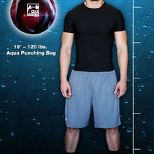"Load image into Gallery viewer, 18"" - 120 lbs. Aqua Punching Bags"