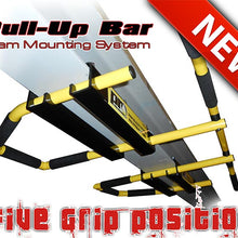 Load image into Gallery viewer, I-Beam Pull Up Bar 5 grip positions yellow