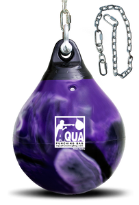 "15"" - 75 lbs. Aqua Training Bag - Purple Crush"