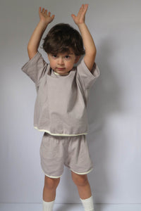 Grey Shortie Set