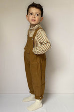 Load image into Gallery viewer, Brown Dungarees