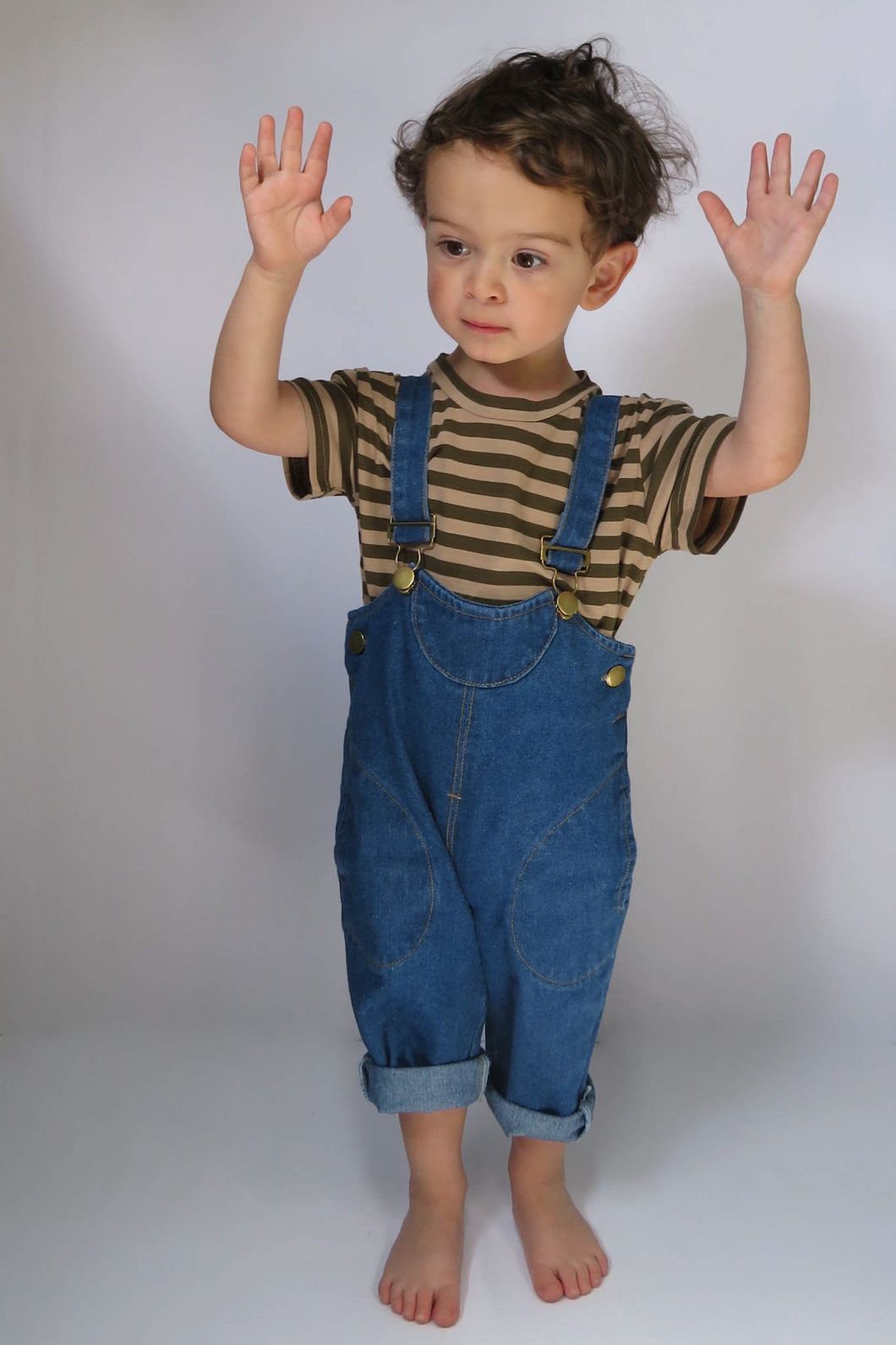 Denim Pocket Dungarees
