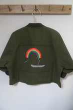Load image into Gallery viewer, Khaki Rainbow Jacket