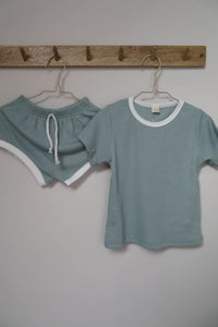Mint Shortie Set