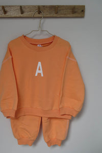 Orange Tracksuit Set