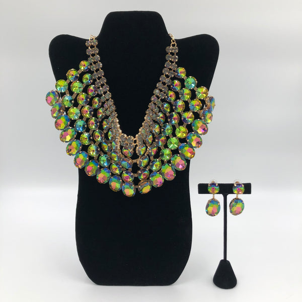 Green Goddess Necklace Set