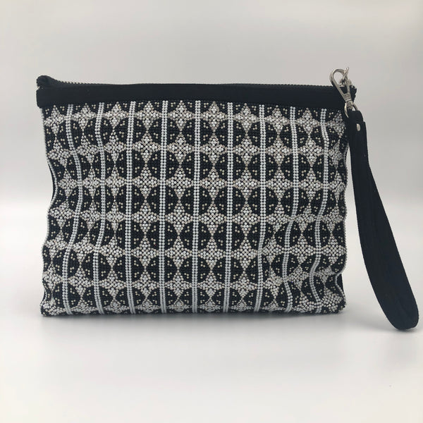Black and White Luxurious Clutch
