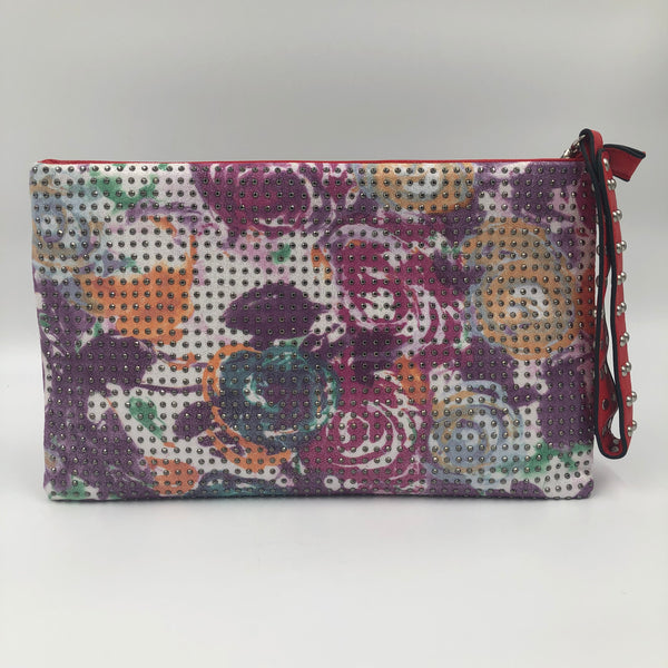 Multicolor Flower Clutch