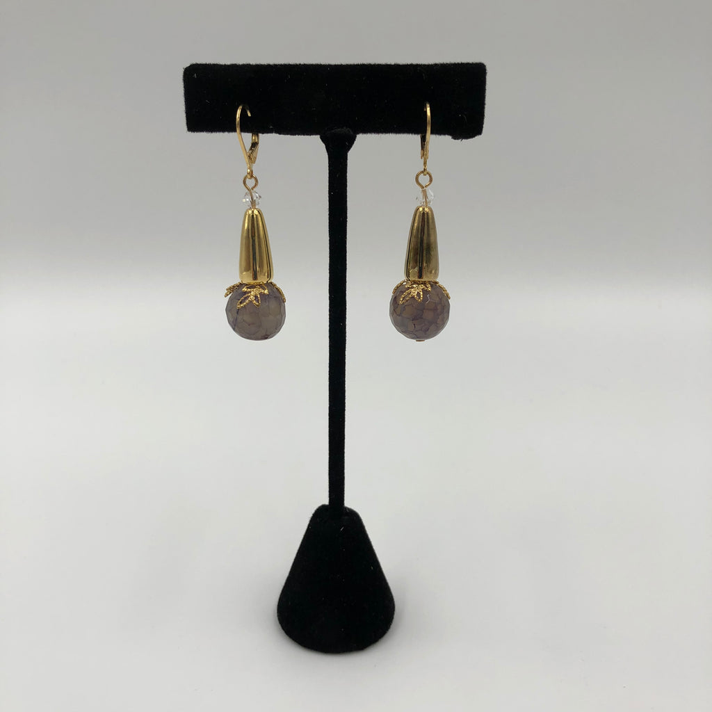 Drop Ball Earrings