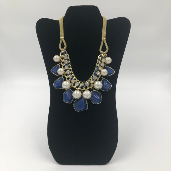 Stones and Peal Necklace