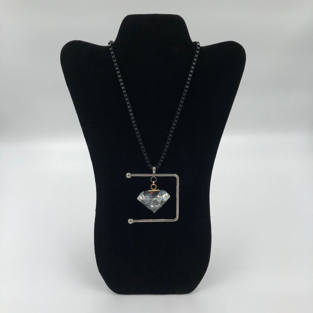 Symmetrical Diamond Necklace