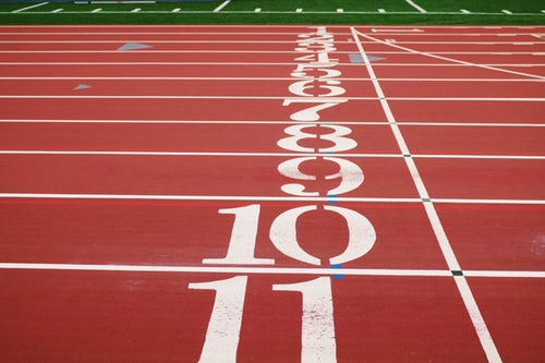 Mile Time Training Tips + Tracker