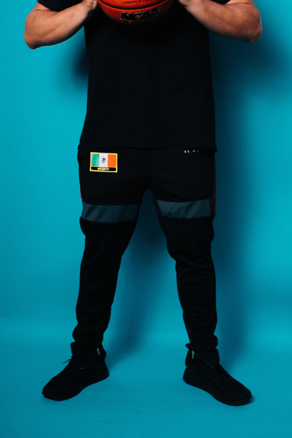 EZ Global Black Track Pants