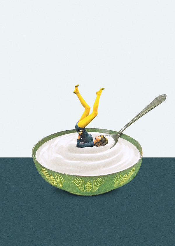 Yoga in my yogurt